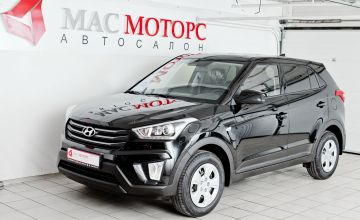 Hyundai Creta 2019 Черный