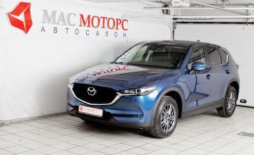 Mazda CX-5 Синий металлик